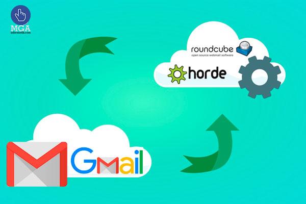Configuración de correos corporativos HOSTING cPanel a Gmail