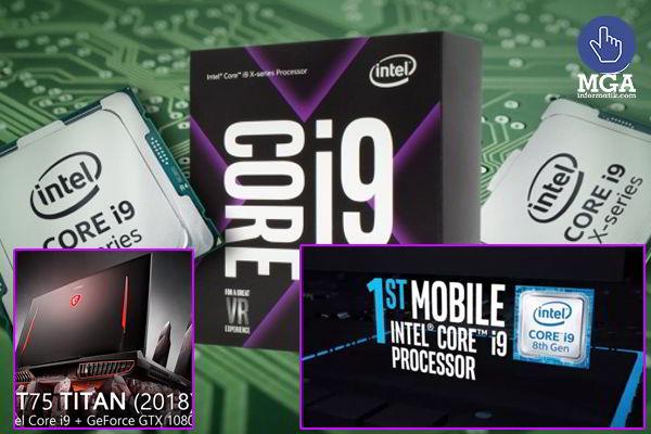 Procesador Intel Core i9 de octava generación para gamers y desarrolladores