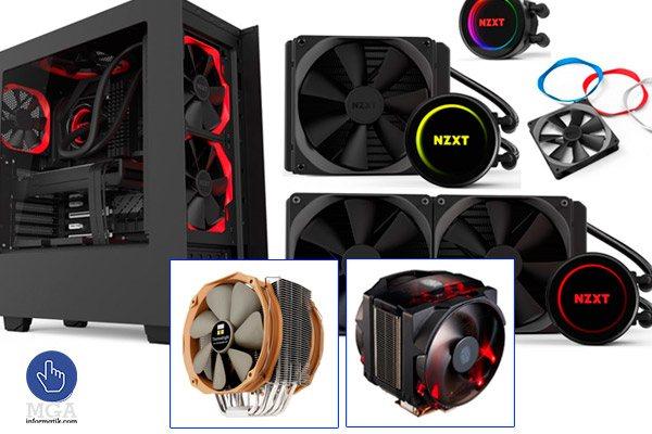 Sistema de refrigeración de computadores